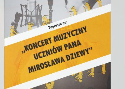 Plakat Koncert Muzyczny