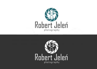Logo Robert Jeleń photography - praca konkursowa